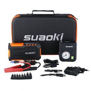 mini booster de batterie suaoki g7plus avec compresseur