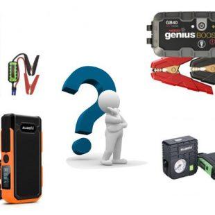 Booster batterie auto et moto – guide et comparatif (2019)