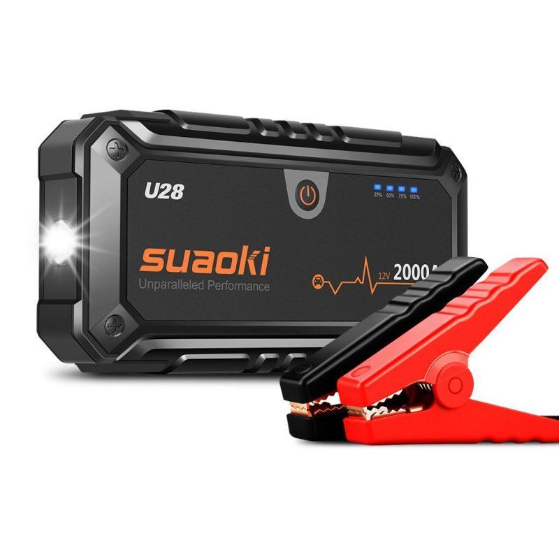 Suaoki U28 2000A Jump Starter en Promo -28%