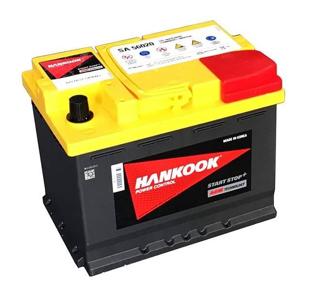Batterie Hankook AGM série SA