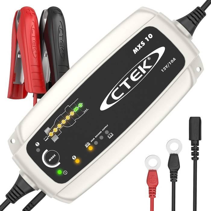 CTEK MXS 10 Chargeur de batterie en Promo -17%