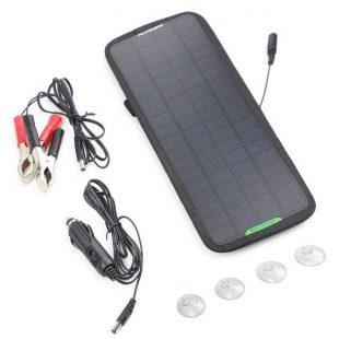Panneau solaire 12v : top 5 des chargeurs pour voiture et camping car (2019)