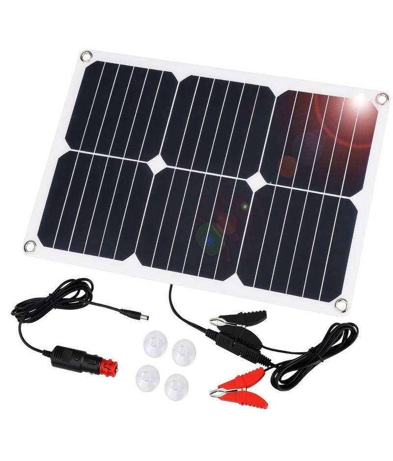 chargeur solaire auto suaoki 18v