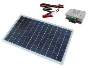 ECO-WORTHY 10W PV Kit Panneau solaire avec contrôleur