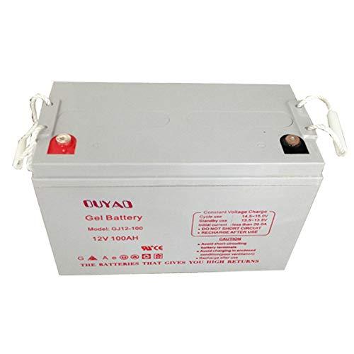 Batterie Camping Car d/écharge lente AGM 12v 110ah