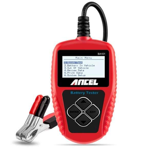 ANCEL BA101 Testeur de Batterie Auto Professionnel en Promo -25%
