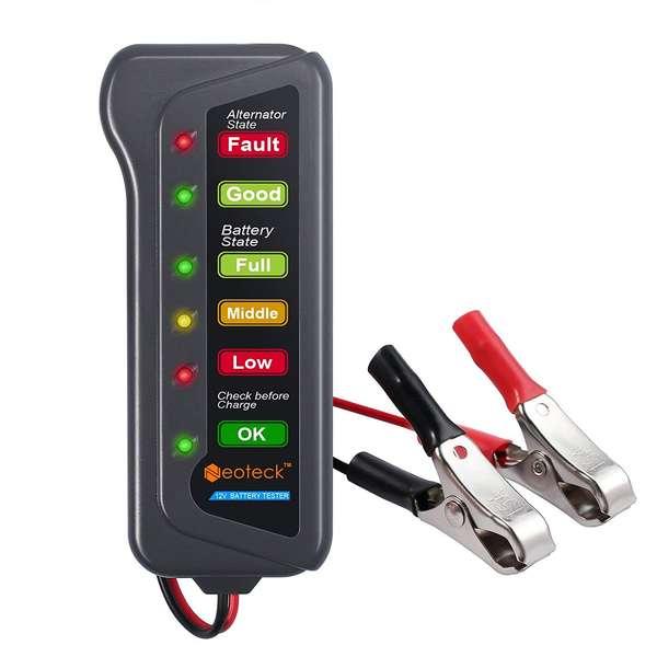 Neoteck Testeur Digital de batterie