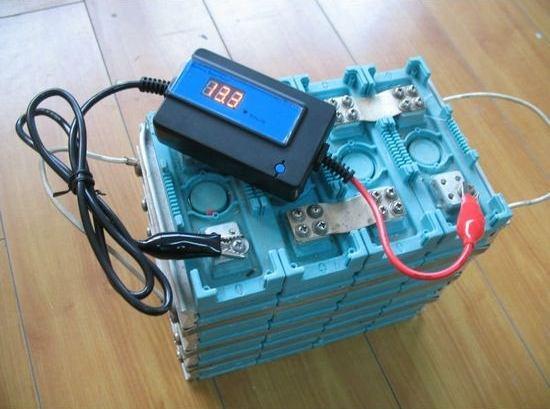 desulfateur de batterie en fonctionnement