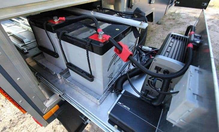 batterie gel cellule camping-car