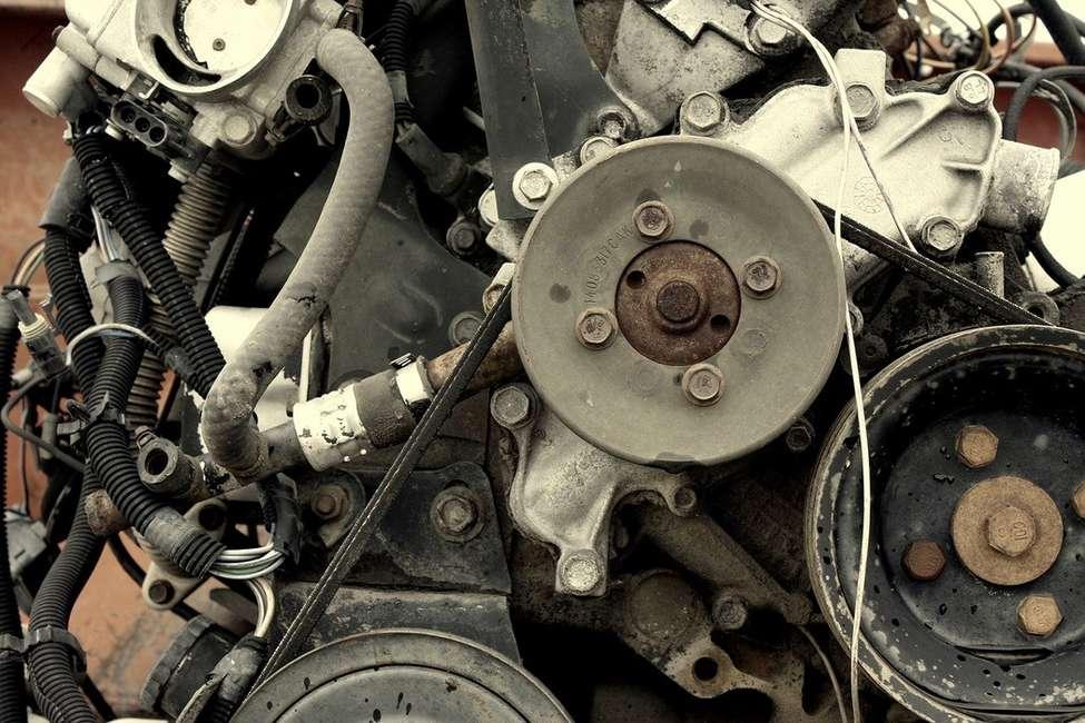 courroies moteur entretien voiture